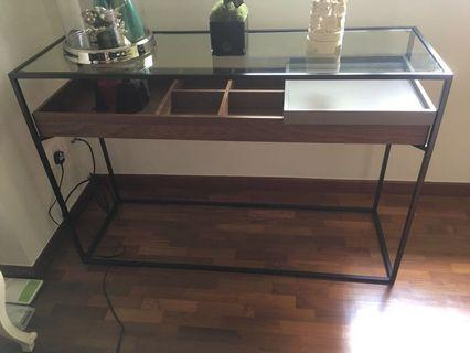 Star living console table