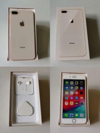 Iphone 8 plus 64GB [Rose Gold]