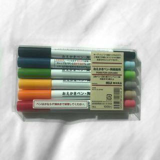 MUJI Pens for Ceramic 6 Pens / 11 Colours Set #SwapAU