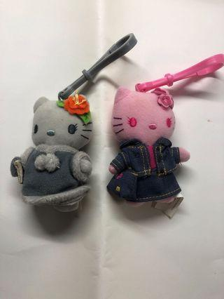 Clearing Stocks: A Pair of Very Nice Hello Kitty Key Chains