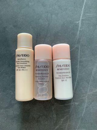 Shiseido Wrinkle Resist 24 抗皺套裝