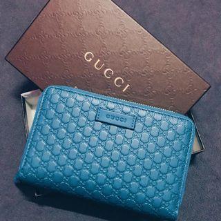 Guccissima leather zip around wallet (Original)