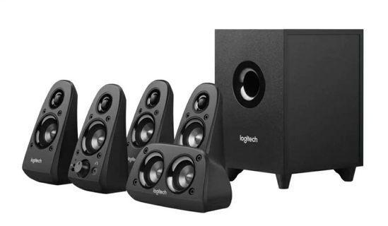 BNIB Logitech Z506 5.1 Surround Sound Home Theater Speaker System