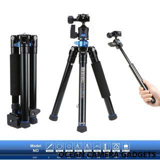 Various Benro Aluminum and carbon fibre tripod lowest price best quality IS05 MC09 C1690TB0 KH26NL