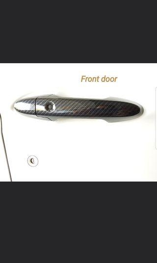 BNIB carbon fibre door handle cover for Honda City