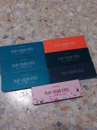 Etude House Play Color Eyes Palettes