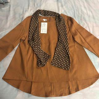 Korean Brown Top