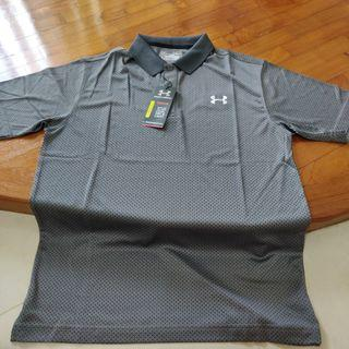 GOLF: UNDER ARMOUR GOLF POLO TEE (BRAND NEW)