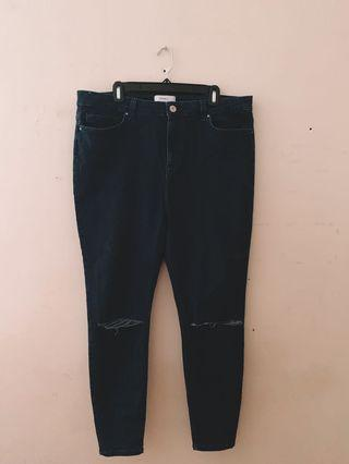 f21 Plus Denim High Waisted Jeans