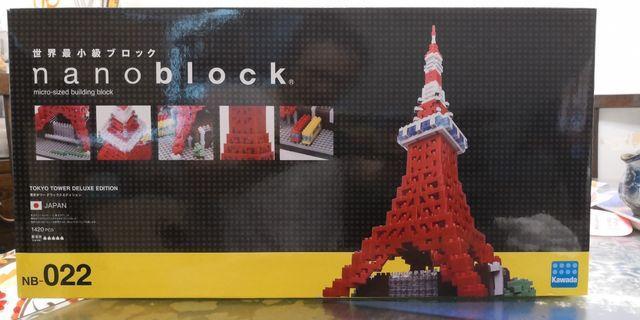 Nanoblock NB-022 東京鐵塔