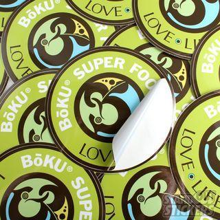 Custom Round Stickers by Rim Buddy