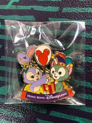 全新 迪士尼襟章 Disney Pin Gelatoni & Stella Lou
