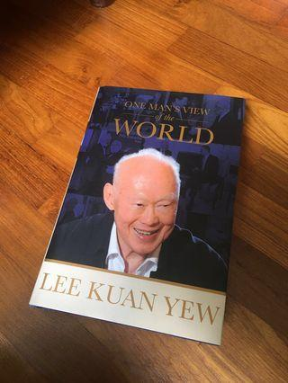 Lee Kuan Yew One Man's View Of The World book