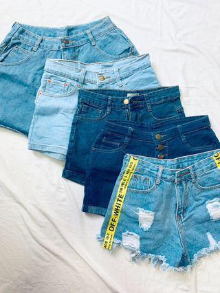 Denim Shorts Sale