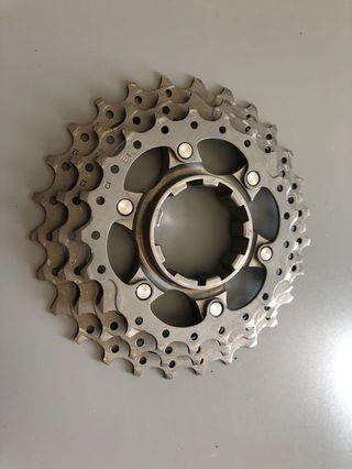 Shimano dura ace 7800 21/24/27T cassette 10 speed