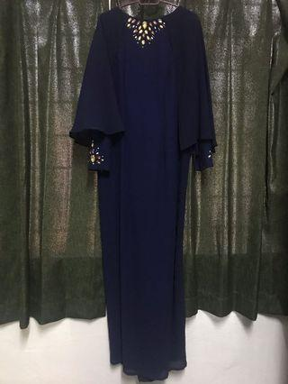 Juliana Nordin cape dress