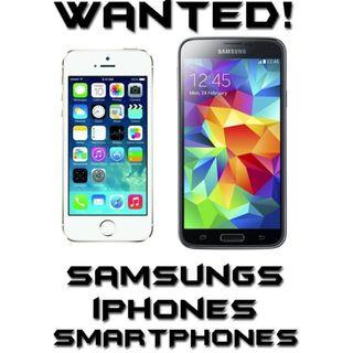 WANTED!!! All models of Apple iPhones, iPads and Android Phones.