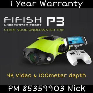 Fifish P3 UnderWater Drone from Qysea