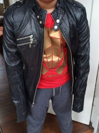 Authentic GUESS LEATHER BIKERS JACKET