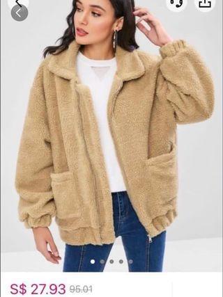 🚚 zaful teddy coat
