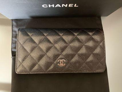 全新Chanel銀包(有盒,有咭,有單,全齊)