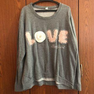 Gray Pull Over / Sweater