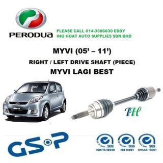 Perodua Myvi Drive Shaft GSP Brand (Best Quality)
