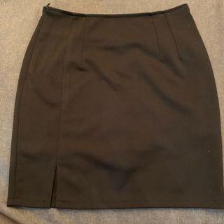 🚚 OL上班族短裙 包臀裙褲 包臀裙 內有安全褲 短裙套裝 開叉ol短裙 開岔包裙