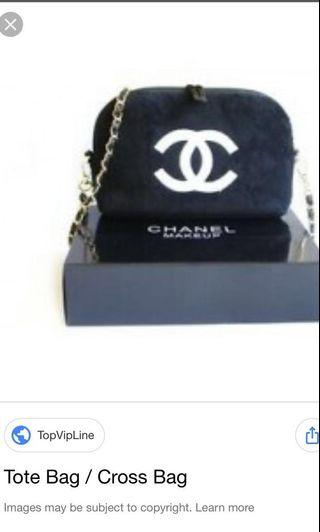 Chanel chain sling bag