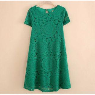 Green Lacey Dress