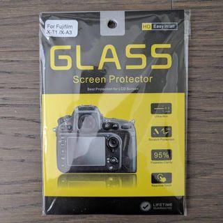 "Fujifilm xt1 3"" tempered glass screen protector"