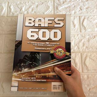 全新‼️ BAFS 600