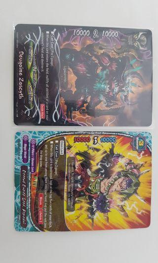 Buddyfight cards Various