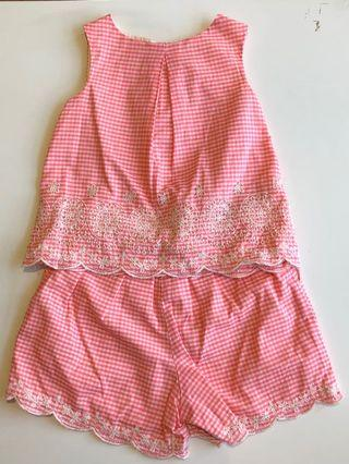 Baby Gap Blouse and Shorts set