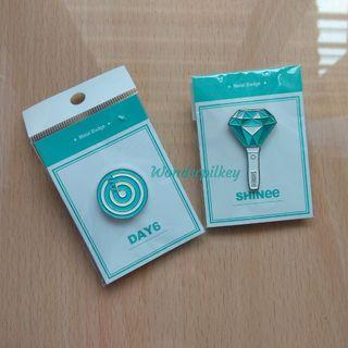 DAY6 Metal Badge 🍋 💎 Shating Star SHINee Badge [READY STOCK] #EST50