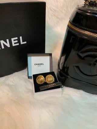 Chanel vintage 老香耳環