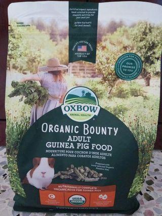 OXBOW ORGANIC BOUNTY - ADULT GUINEA PIG 3lbs