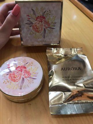 韓國Aurora 超水光,遮瑕氣墊粉#21