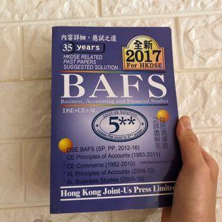 HKDSE BAFS Past Papers Booklet Joint-Us Press 磚頭書