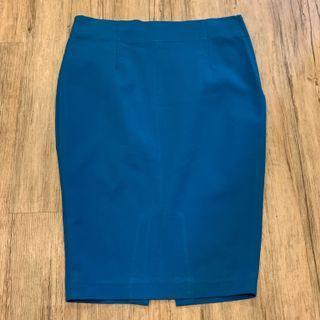 Zara Cobalt Blue Pencil Skirt