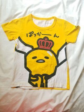 蛋黃哥t shirt 110 size