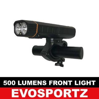 🚚 Rechargeable 500Lumens T6 Front Light