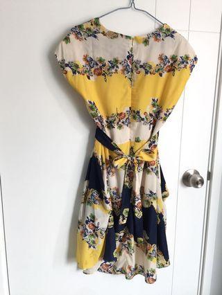 瘦身one piece dress