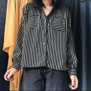 Black Stripes Shirt (with defect)