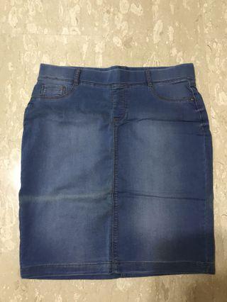 Dorothy Perkins Blue Denim Skirt