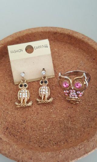 New Earrings & Ring