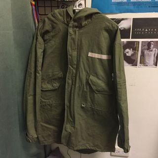 🚚 M65軍裝長版外套 軍綠