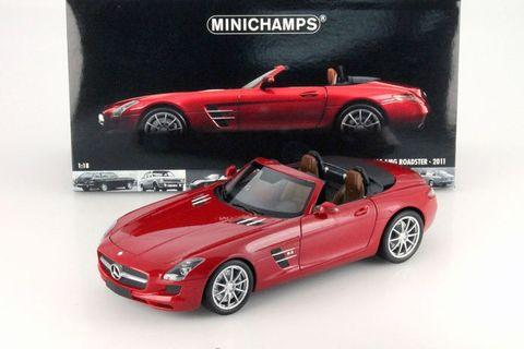 🚚 Minichamps Mercedes-Benz SLS AMG roadster 1:18