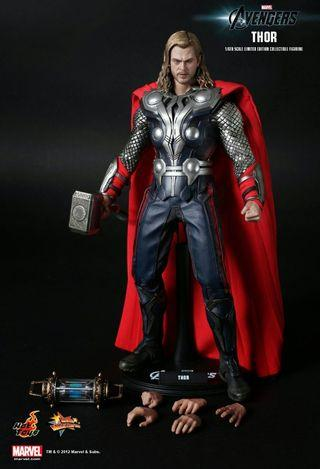 二手 Hottoys the avengers Thor 雷神 MMS175