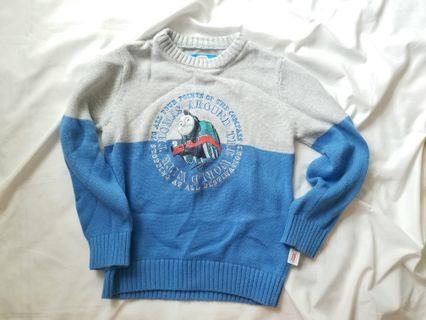 正版thomas 冷衫knitted sweater blue and grey